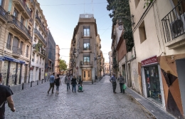 Plan for the reconstruction of fifty XVIII-century-old passages in Ciutat Vella